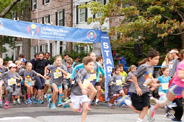 Bronxville Road Race 2014, kids' dash