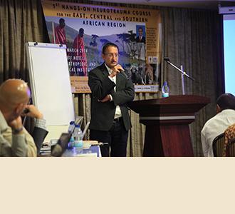 Dr. Hal Mangat, teaching