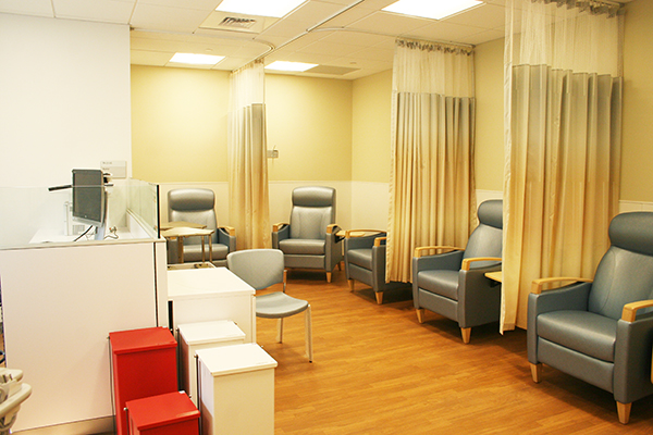Recovery room: Weill Cornell Medicine Center for Comprehensive Spine Care