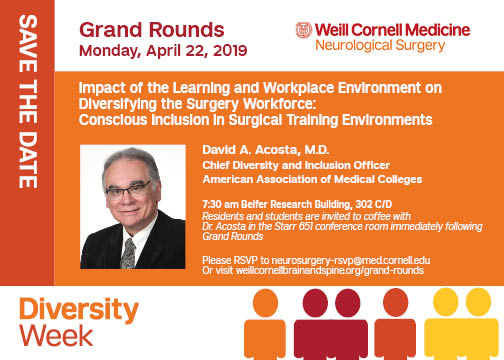 Diversity Week 2019 - Grand Rounds David Acosta, MD