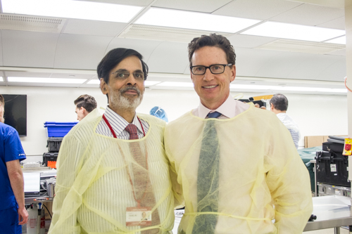 Dr. Vijay Anand and Dr. Schwartz