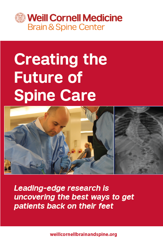 Creating the Future of Spine Care
