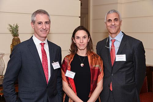 Drs. Jeffrey Greenfield, Caitlin Hoffman, and Mark Souweidane