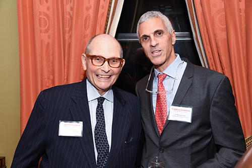 Dr. Michael Apuzzo and Dr. Mark Souweidane