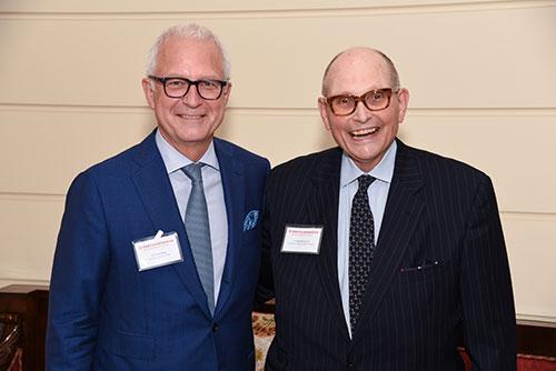 Dr. Philip Stieg and Dr. Michael Apuzzo