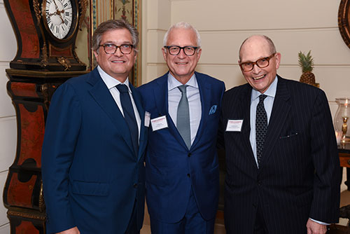 Dr. Roger Härtl, Dr. Philip Stieg, and Dr. Michael Apuzzo