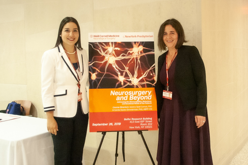 Course directors Dr. Jessica Spat-Lemus and Dr. Amanda Sacks-Zimmerman
