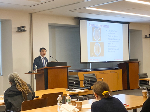 Dr. Ning Lin discusses surgical approaches to treating adults with traumatic brain injury