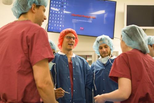 Medical Student Neurological Surgery Boot Camp
