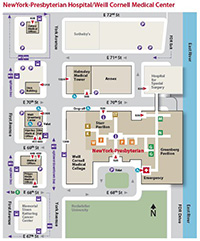 Map and Directions | Weill Cornell Brain and Spine Center