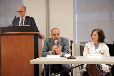 Drs. Nanus, Ramakrishna, and Roboz