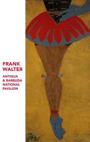 The invitation to the Frank Walter exhibition at the Venice Biennale 2017
