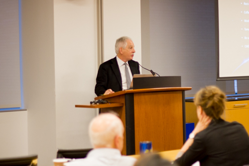 President and CEO of NewYork-Presbyterian, Steven J. Corwin, M.D., delivers opening remarks