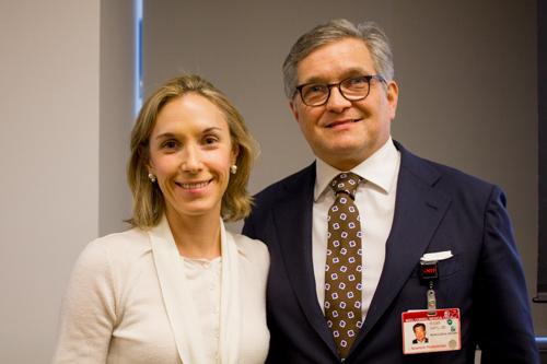 Co-directors Dr. Caitlin Hoffman and Dr. Roger Härtl