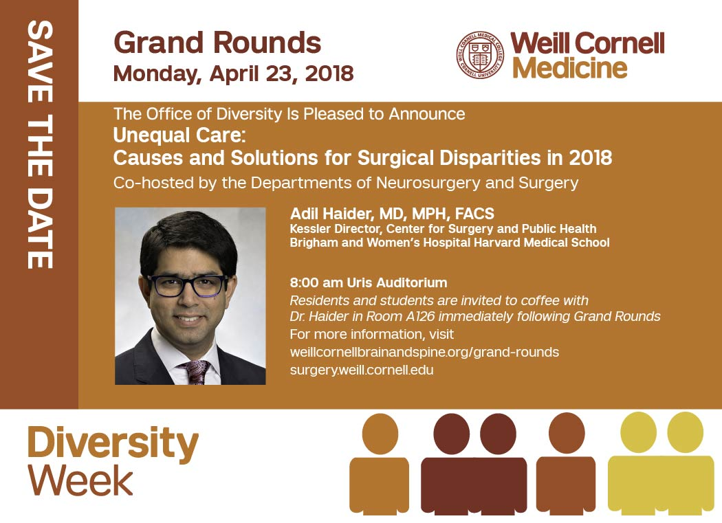 Diversity Week - Grand Rounds