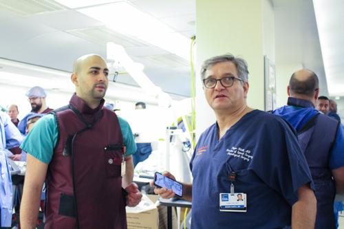 Dr. Christoph Wipplinger and Dr. Roger Härtl
