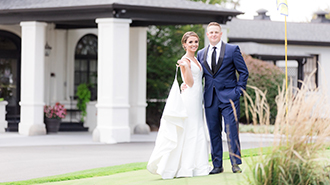 Lexi Miller with her husband, Daniel