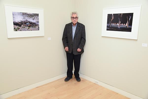 Elliott Erwitt at the Edwynn Houk Gallery