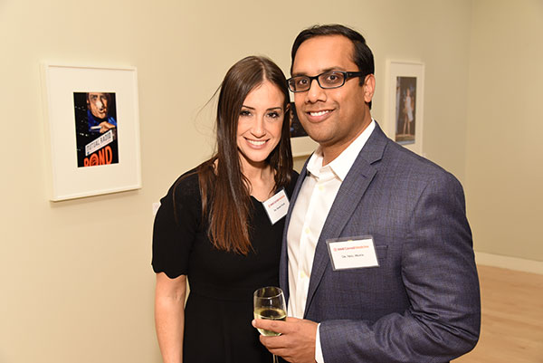 Dr. Naomi Feuer and Spine Center co-director Dr. Neel Mehta