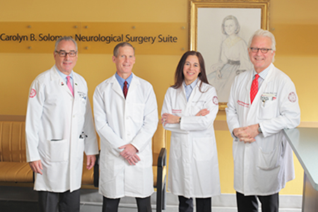 Drs Fink, Fine, Pannullo, and Stieg, Weill Cornell neuro-oncology