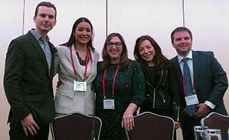 Dr  Spat-Lemus Co-Chairs Cross-Cultural Brain Mapping Symposium