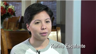 Karina Escalante - the long road to recovery