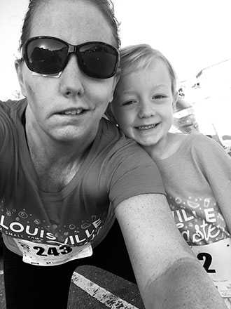 Keri Mahe participated in a 5K run just two and a half months after her brain surgery