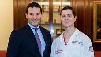 Dr. Knopman with Dr. Rapoport