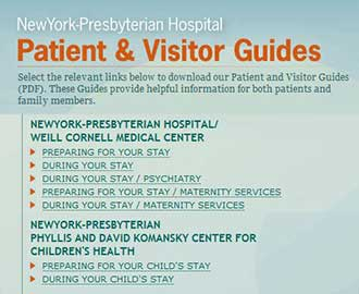 Patient and Visitor Guides