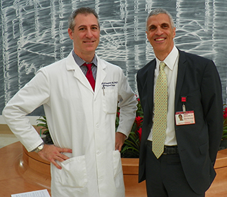 Dr. Jeffrey Greenfield and Dr. Mark Souweidane