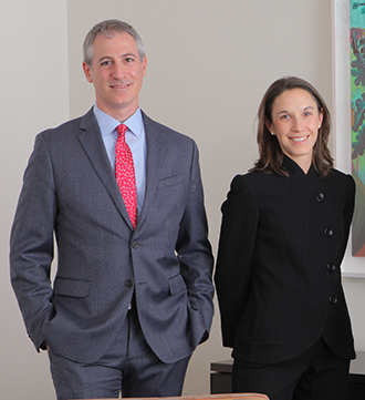 Dr. Jeffrey Greenfield and Dr. Caitlin Hoffman