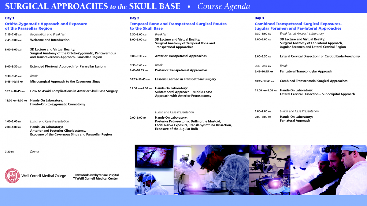 Complex Surgical Approaches to the Skull Base: Hands-on Dissection ...
