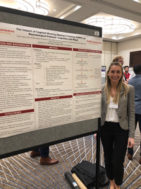 Taylor A. Liberta, a research assistant in neuropsychology at the Weill Cornell Medicine Brain and Spine Center