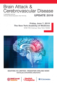 Brain Attack and Cerebrovascular Disease Update 2019