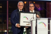 Dr. Philip E. Stieg is named President of the Brain Tumor Foundation by Chairman Michael Schreiber
