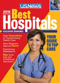 U.S. News & World Report Best Hospitals issue 2016