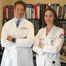 Dr Theodore Schwartz and Dr Caitlin Hoffman of Weill Cornell Medicine