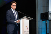 Dr. Theodore Schwartz was honored at the 2019 Taste for Life dinner hosted by the Brain Tumor Foundation