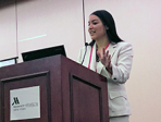 Dr. Spat-Lemus Co-Chairs Cross-Cultural Brain Mapping Symposium