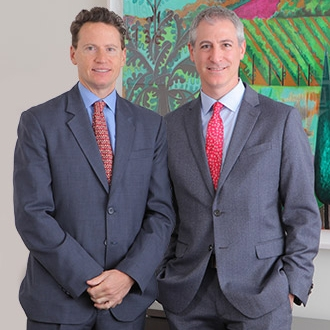 Dr. Jeffrey Greenfield and Dr. Theodore Schwartz