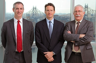 Dr. Jeffrey Greenfield, Dr. Theodore Schwartz, and Dr. Kenneth Perrine