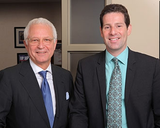Dr. Philip Stieg and Dr. Michael Kaplitt