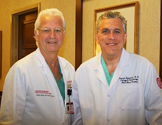 Dr. Philip E. Stieg and Dr. Samuel Selesnick