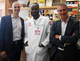 Dr. Mark Souweidane, Dr. Babacar Cisse, and Dr. Jeffrey Greenfield, Weill Cornell Medicine Neurofibromatosis
