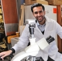Ranjodh Singh, a medical student research fellow in Dr. Souweidane's laboratory