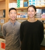 Raymond Chang and Emilie George, the 2016 St. Baldrick's Summer Fellows