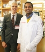 Mark M. Souweidane, MD and CBTP researcher Uday Maachani, PhD