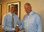 Dr. Mark Souweidane meets with David Wetzel of the McKenna Claire Foundation