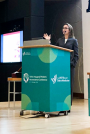 Dr. Hoffman at Sidra Conference 2019, Qatar