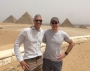 Dr. Mark Souweidane and Dr. Theodore Schwartz in Cairo